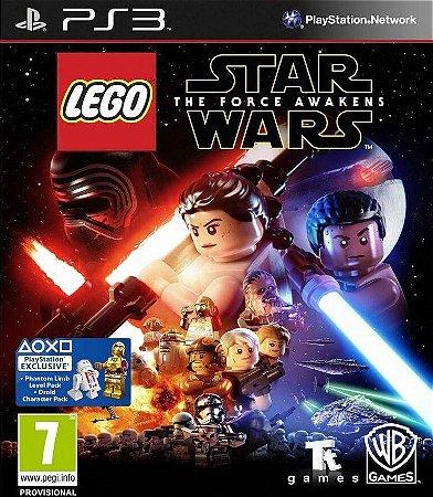 LEGO Star Wars The Force Awakens PS3 PSN Mídia Digital