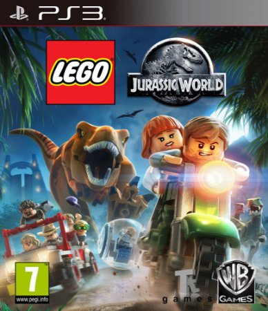 LEGO© Jurassic World PS3 PSN Mídia Digital