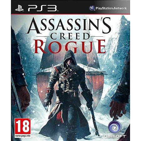 Assassin's Creed Rogue Ps3 PSN Mídia Digital