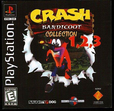 Crash Bandicoot Collection 1,2 & 3 (PSONE CLASSIC) PS3 PSN Mídia Digital