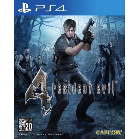 resident Evil 4 Ps4   PSN Mídia Digital