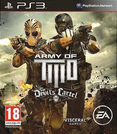 Army of TWO The Devil's Cartel PS3 PSN Mídia Digital Promoção