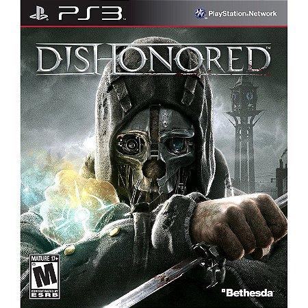 Dishonored PS3 PSN Mídia Digital