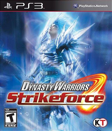 Dynasty Warriors Strikeforce PS3 PSN Mídia Digital
