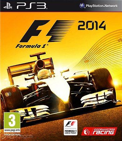 F1 2014 PS3 PSN MÍDIA DIGITAL