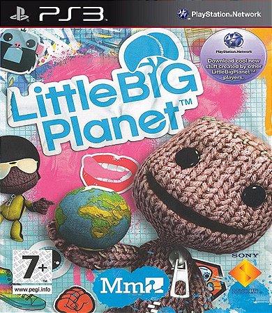 Little Big Planet PS3 PSN Mídia Digital