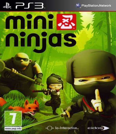 Mini Ninjas PS3 PSN Mídia Digital