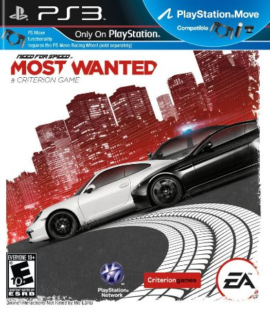 Need for Speed™ Most Wanted PS3 PSN Mídia Digital Promoção