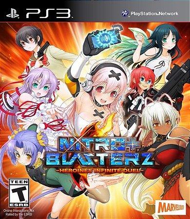 Nitroplus Blasterz: Heroines Infinite Duel PS3 PSN Mídia Digital