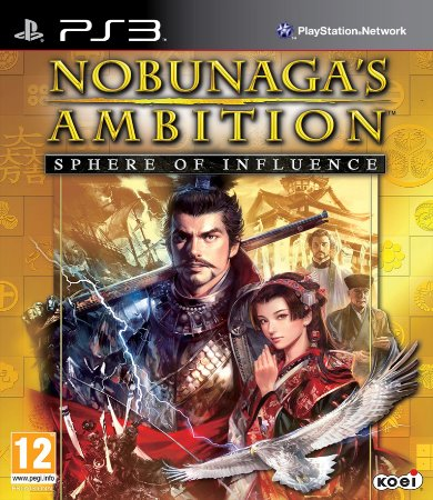 NOBUNAGA'S AMBITION: Sphere of Influence PS3 PSN Mídia Digital