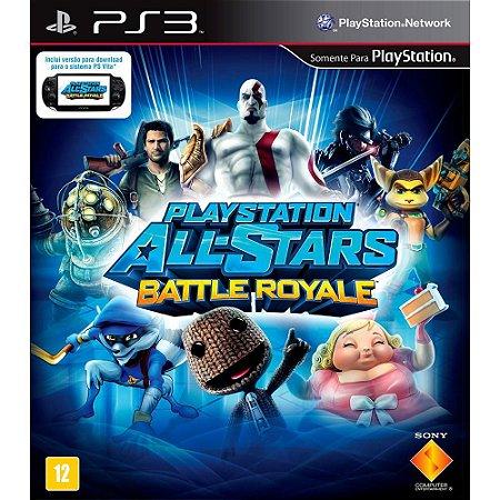 PlayStation® All-Stars Battle Royale PS3  PSN Mídia Digital