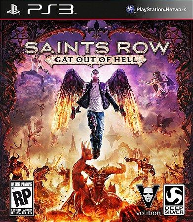 Saints Row: Gat Out of Hell PS3  PSN Mídia Digital