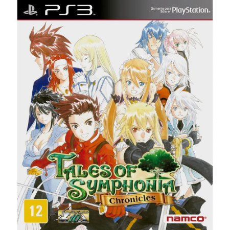 Tales of Symphonia Chronicles PS3  PSN Mídia Digital