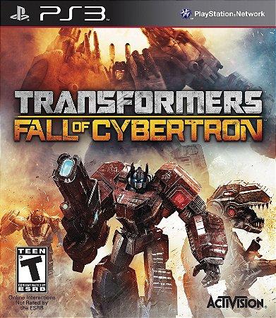 Transformers: Fall of Cybertron Gold Edition PS3  PSN Mídia Digital