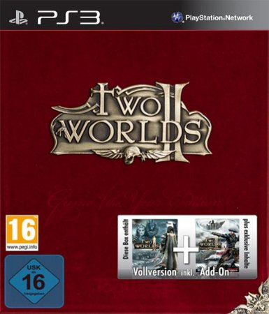 TWO WORLDS II VELVET GAME OF THE YEAR EDITION PS3  PSN Mídia Digital