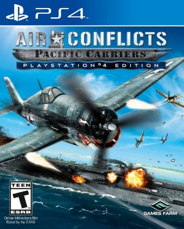 Air Conflicts: Pacific Carriers  PS4 PSN Mídia Digital