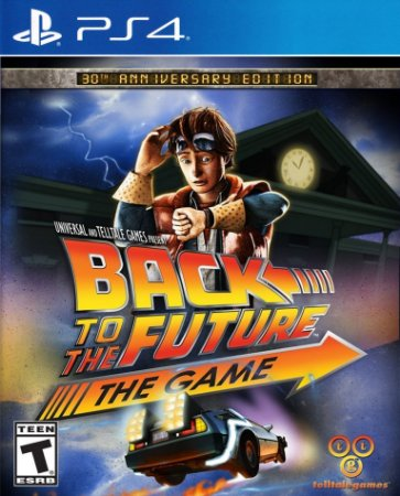 Back to the Future: The Game - 30th Anniversary Edition PS4 PSN Mídia Digital