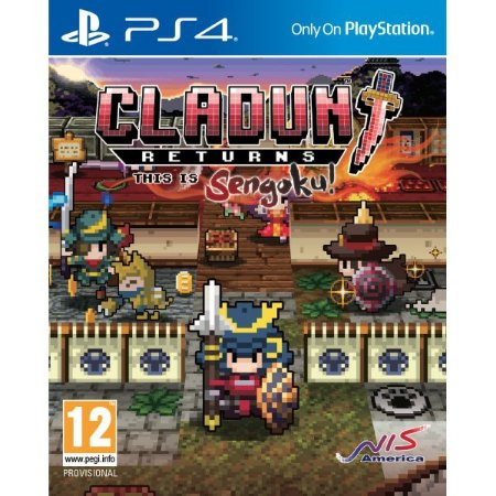 Cladun Returns: This Is Sengoku! PS4 PSN Mídia Digital