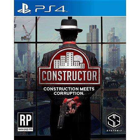 Constructor PS4 PSN Mídia Digital