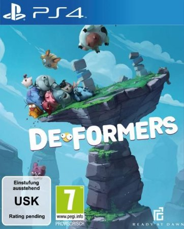 Deformers PS4 PSN Mídia Digital