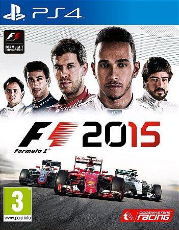 F1 2015 PS4 PSN Mídia Digital