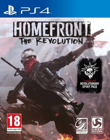 Homefront: The Revolution PS4 PSN Mídia Digital