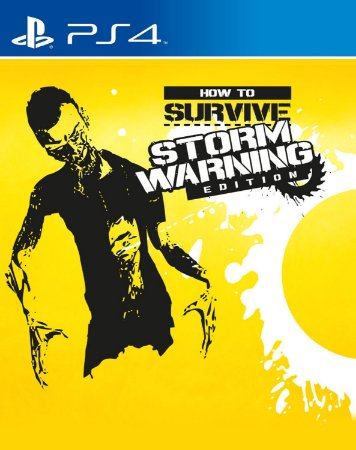 How to Survive: Storm Warning Edition PS4 PSN mídia digital