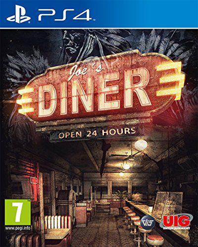 Joe's Diner PS4 PSN mídia digital