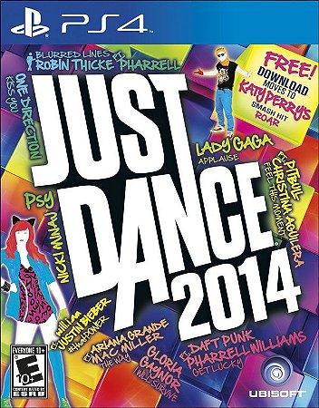 Just Dance 2014 PS4 PSN mídia digital