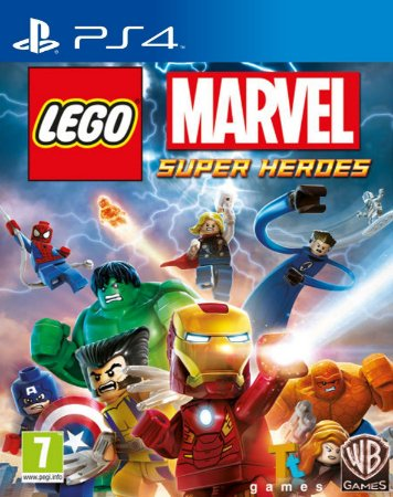 LEGO Marvel Super Heroes PS4 PSN Mídia Digital