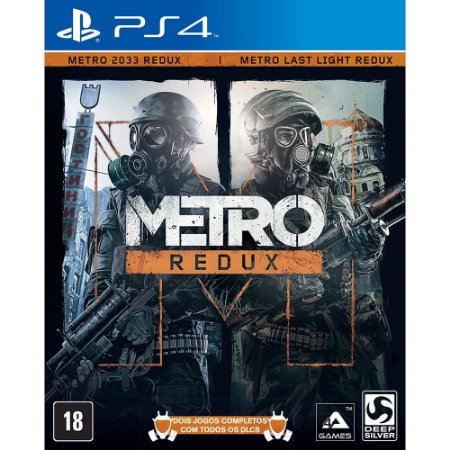 Metro Redux PS4 PSN MÍDIA DIGITAL