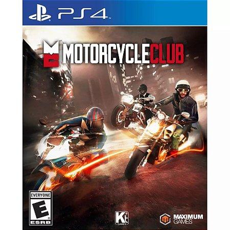 Motorcycle Club PS4 PSN Mídia Digital