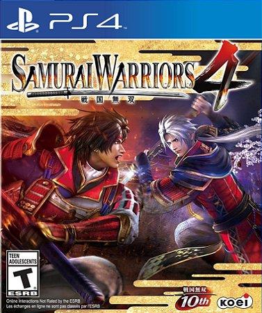 SAMURAI WARRIORS 4 PS4  PSN Mídia Digital