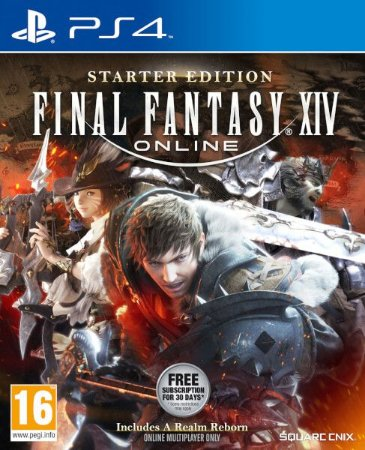 Starter Edition do FINAL FANTASY XIV Online PS4  PSN Mídia Digital