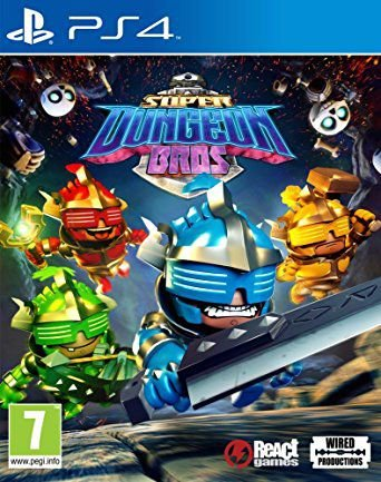 Super Dungeon Bros PS4  PSN Mídia Digital