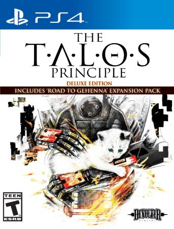 The Talos Principle: Deluxe Edition PS4  PSN Mídia Digital