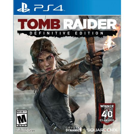 Tomb Raider Definitive Edition PS4  PSN MÍDIA DIGITAL