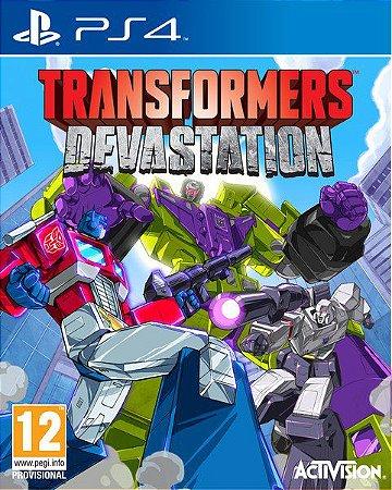 TRANSFORMERS Devastation PS4  PSN Mídia Digital