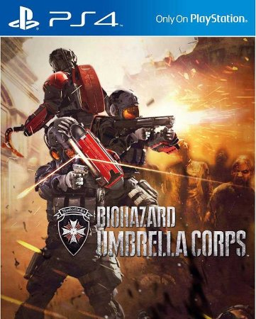 Umbrella Corps Deluxe Edition PS4  PSN Mídia Digital