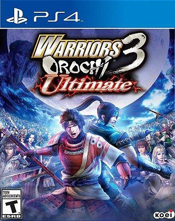 WARRIORS OROCHI 3 PS4 PSN Mídia Digital