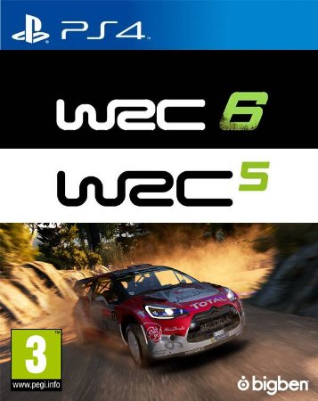 WRC 5 & 6 Deluxe Pack PS4 PSN Mídia Digital