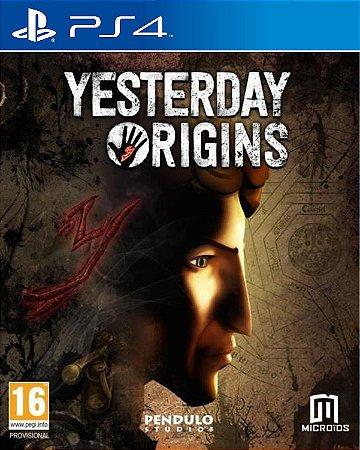 Yesterday Origins PS4 PSN Mídia Digital