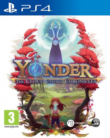 Yonder: The Cloud Catcher Chronicles PS4 PSN Mídia Digital