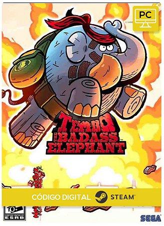 Tembo The Badass Elephant PC Steam Código De Resgate Digital