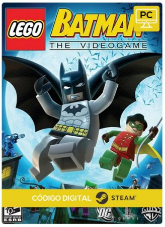 Lego Batman Steam Código De Resgate Digital