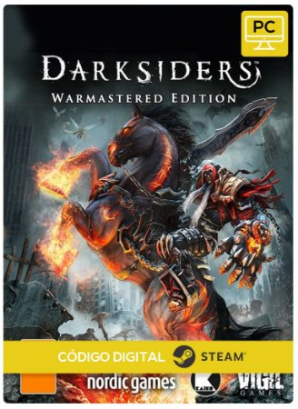 Darksiders Warmastered Edition Steam Código E Resgate Digital