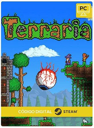 Terraria Steam Pc Código De Resgate Digital