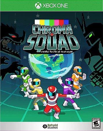 Chroma Squad Xbox One Código de Resgate  25 Dígitos Digital