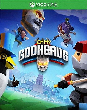 Oh My Godheads Xbox One Código de Resgate 25 Dígitos