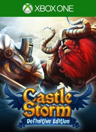 Castlestorm Definitive Edition Xbox One Código de Resgate 25 Dígitos